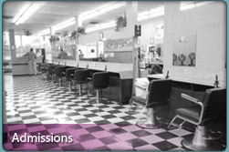Admissions Details on Hair Design